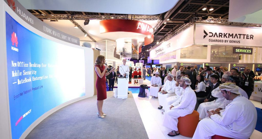 GITEX Event Hosted by May Ali