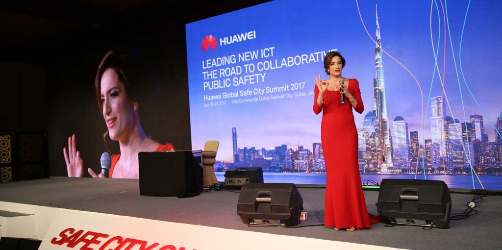Huawei Global Safety Gala hosted by May Ali